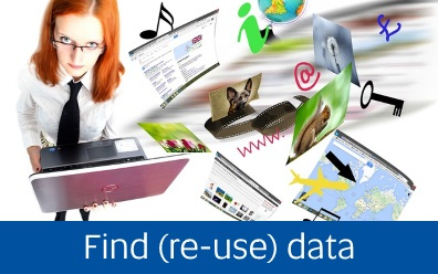 Navigate to the find (re-use) data tab within this guide
