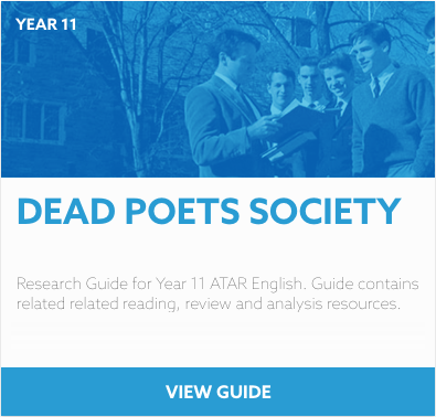Dead Poets Society Reading List