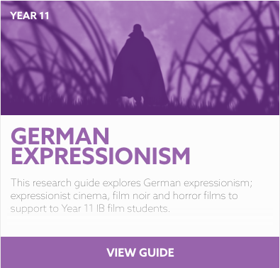 German Expressionism reading list