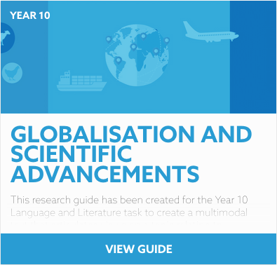 Globalisation and Scientific Advancements reading list