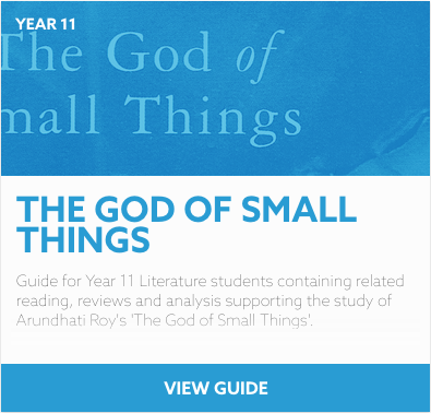 The God of Small Things reading list