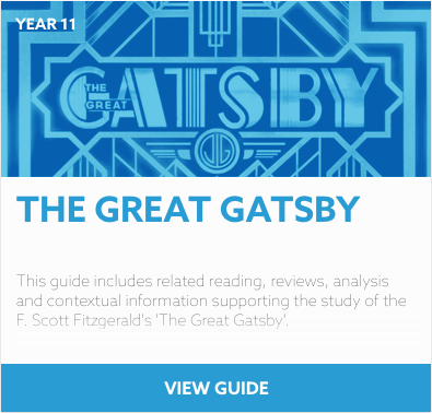 The Great Gatsby research guide