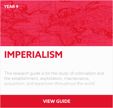 Imperialism reading list