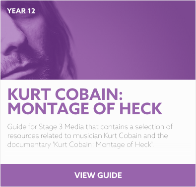 Kurt Cobain: Montage of Heck reading list