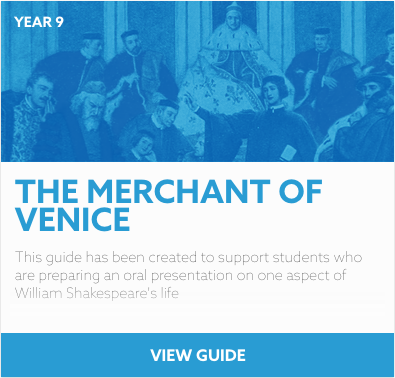 The Merchant of Venice research guide
