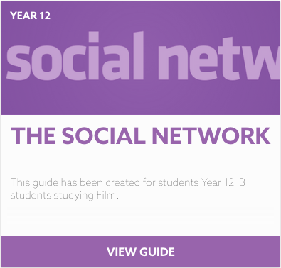 The Social Network reading list