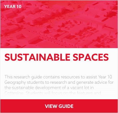 Sustainable Spaces reading list