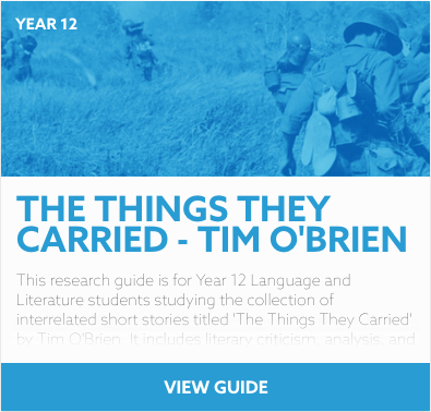 The Things They Carried reading list