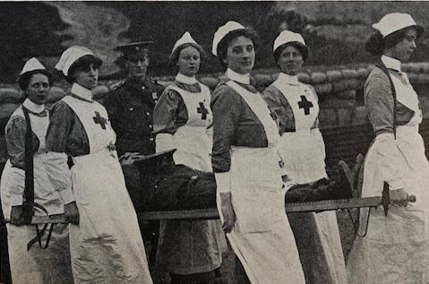 Australian Nurses in Egypt 1915-16   20th century - WWI