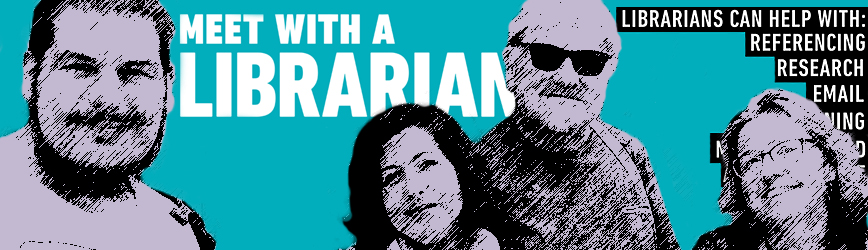 Meet with a librarian