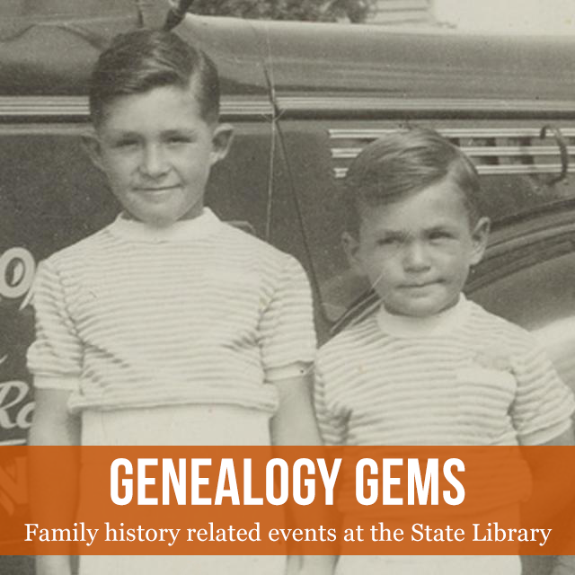 Genealogy Gems: family history related events at the State Library of SA