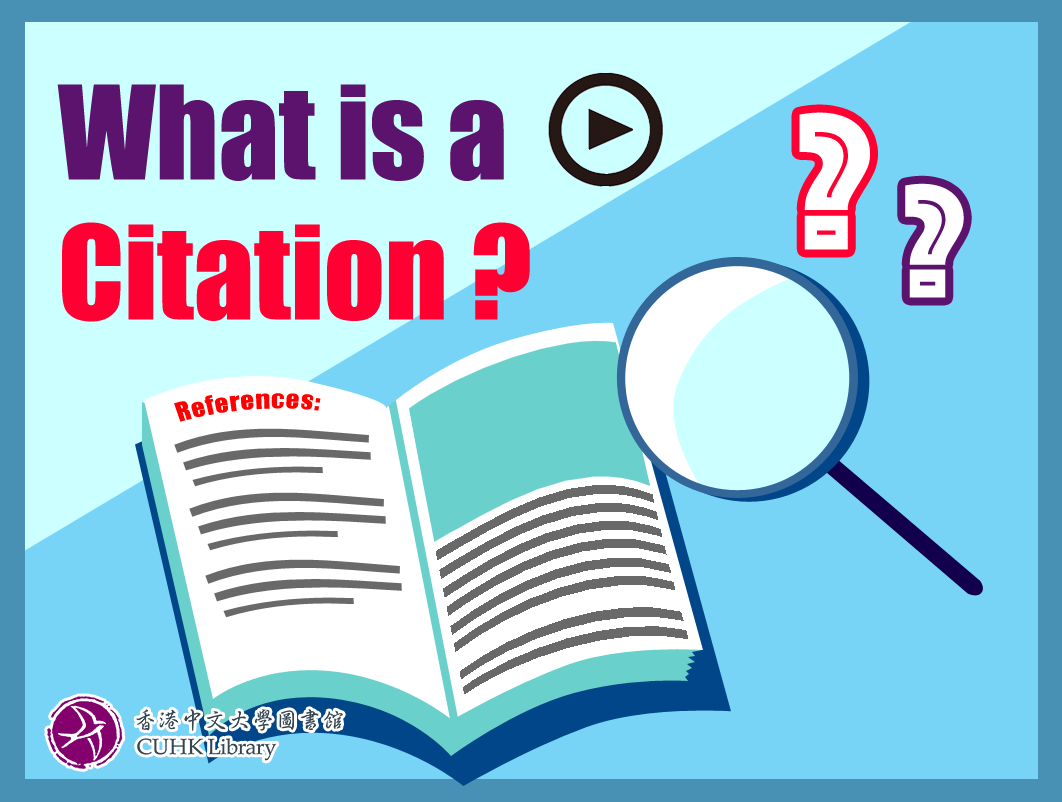 What is a Citation?