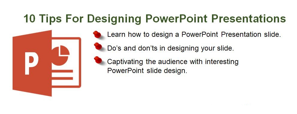Assignment SOS - 10 tips for designing PowerPoint presentations
