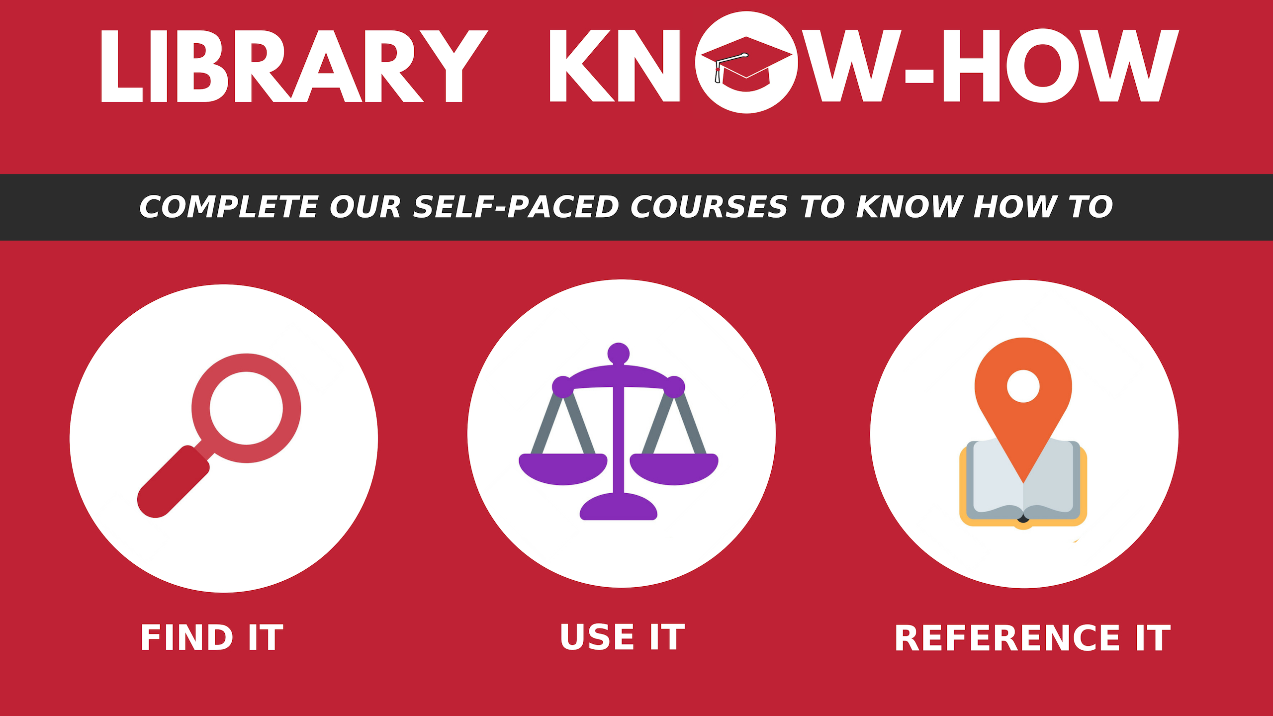 Complete our self-paced courses