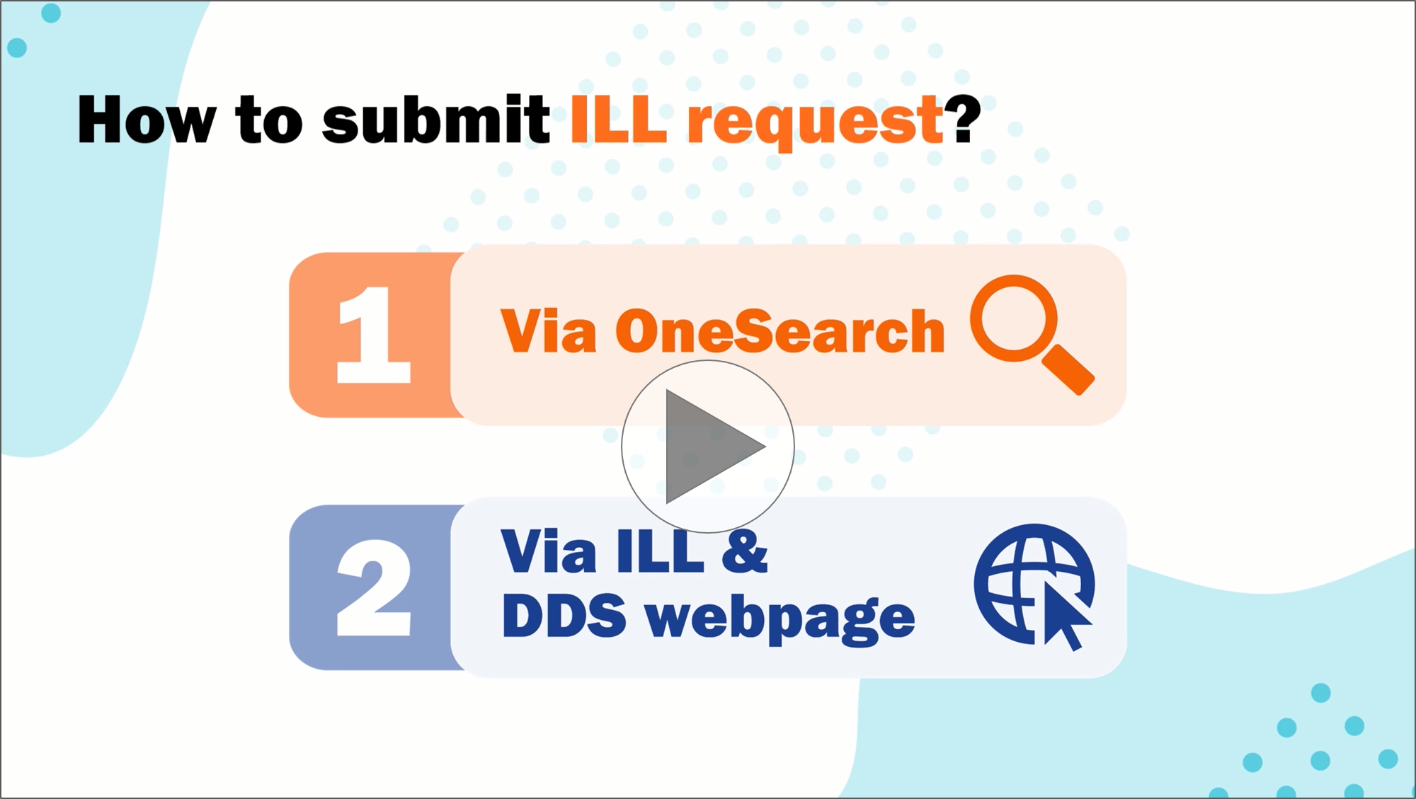 Using Interlibrary Loan Services to Request Research Materials [2:03]