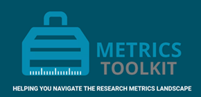 Metrics toolkit Helping you navigate.