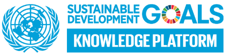 Banner for the UN Sustainable Development Goals Knowledge Platform