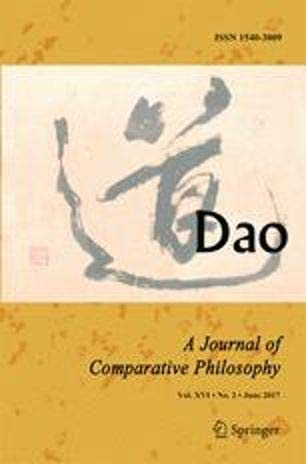 Dao A Journal of Comparative Philosophy