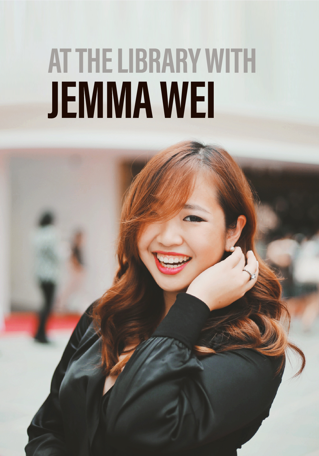 At the Library with Jemma Wei