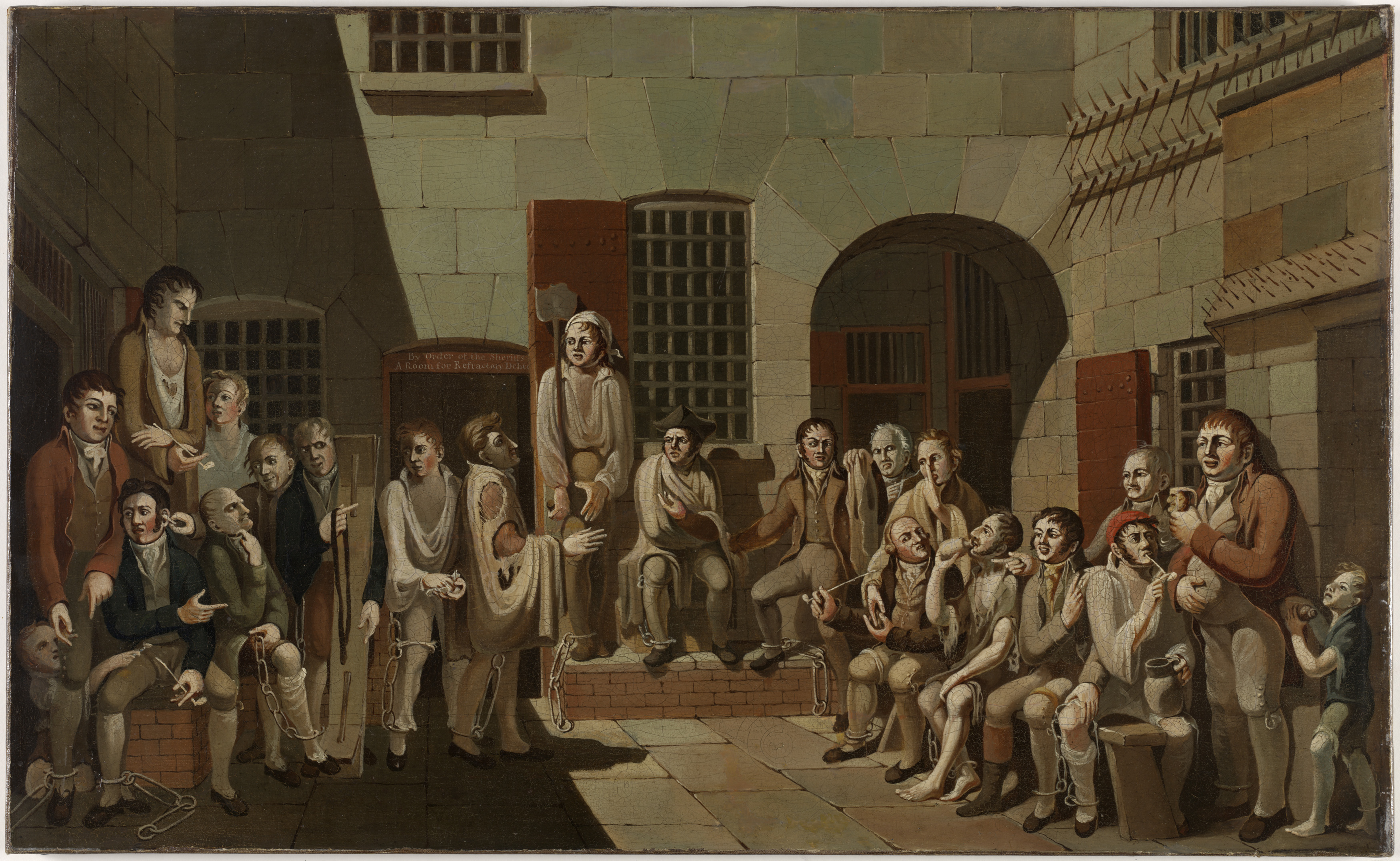 The mock trial, 1812 / painted by Francis Greenway