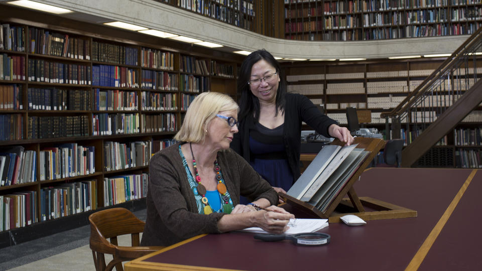 Librarian in special collections