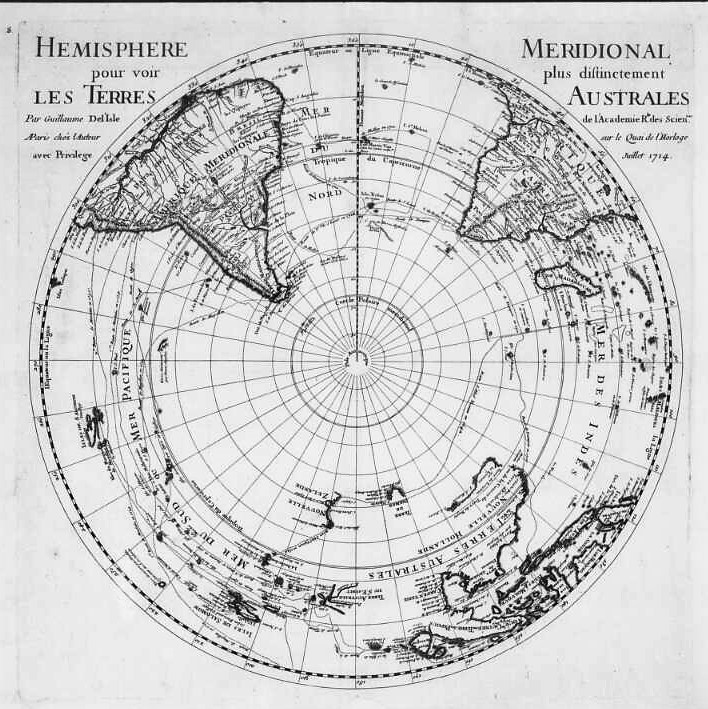 Southern Hemisphere - 01 January 1714