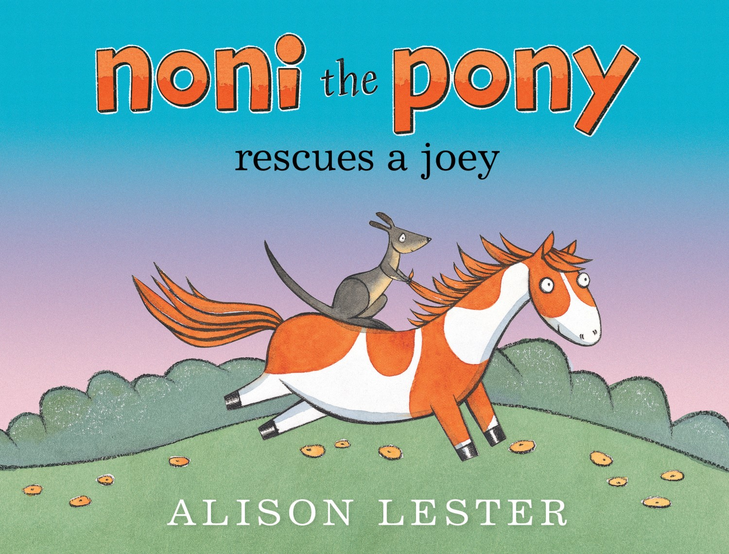 Noni Pony rescues a Joey