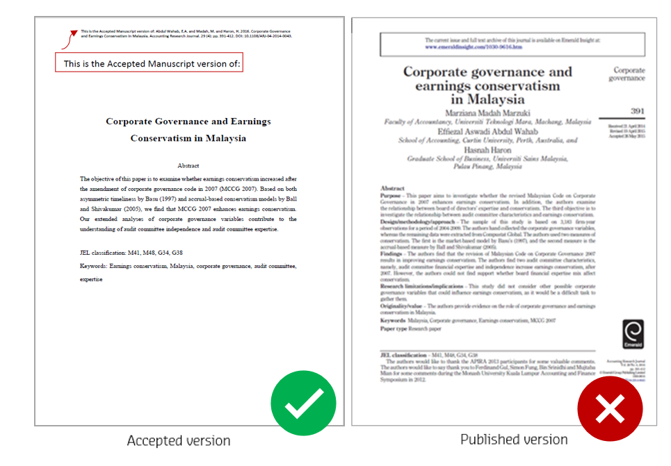Example 2 of accepted version and published version of a journal article