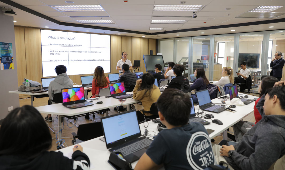FlexSim and 3D Modeling Training Session by Mr David Chan