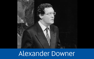 Navigate to Alexander Downer Collection page