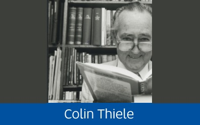 Navigate to Colin Thiele collection page