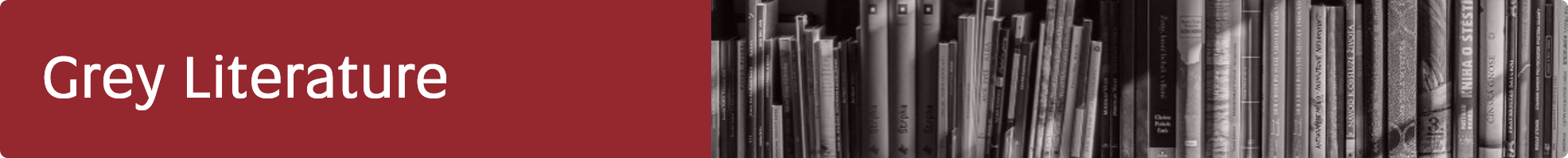 Grey Literature title banner