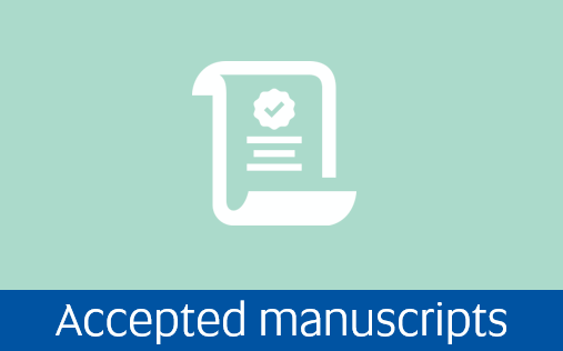 Navigate to accepted manuscripts page