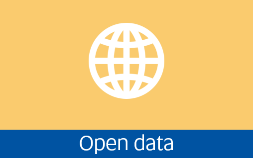 Navigate to open data page