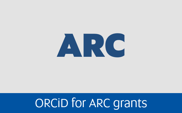 Navigate to Orcid for ARC grants page