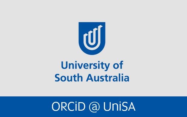 Navigate to Orcid at Uni SA page