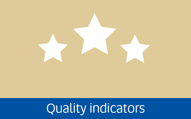 Navigate to quality indicators page
