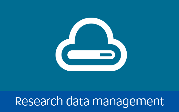 Navigate to research data management page