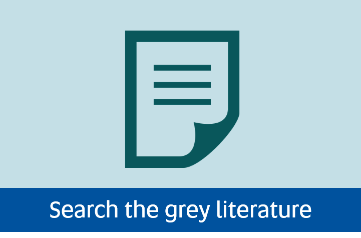 Navigate to search the grey literature page