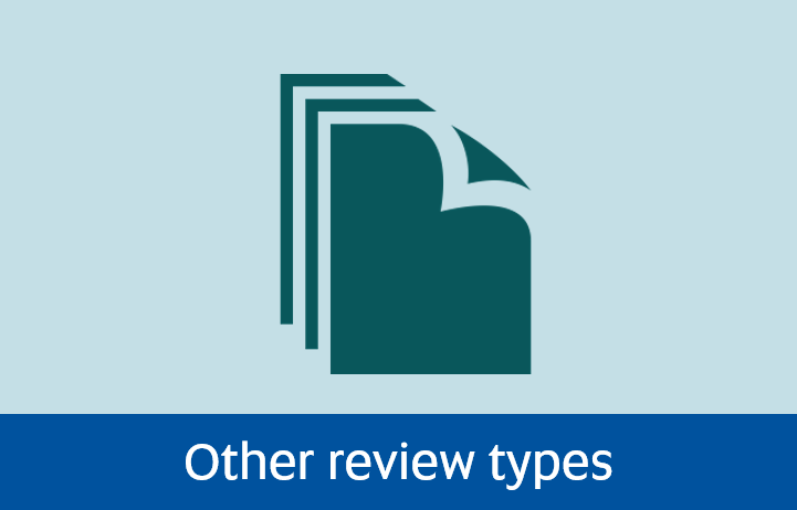 Navigate to Other review types page