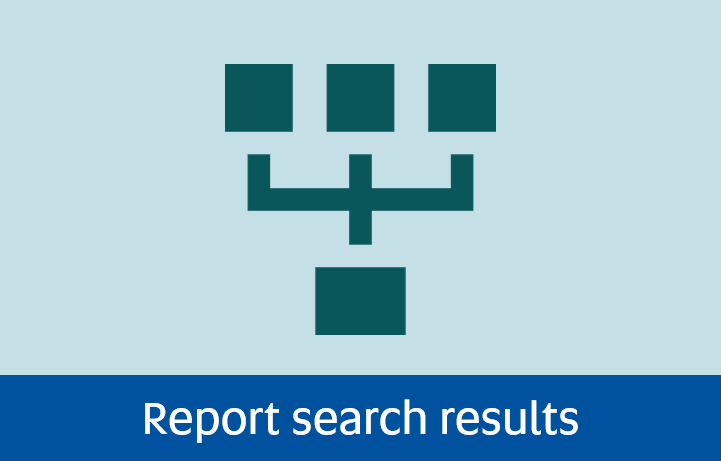 Navigate to report search results page