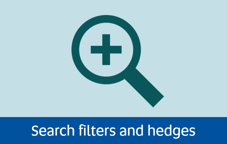 Navigate to search filters and hedges page