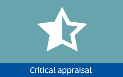 Navigate to critical appraisal page