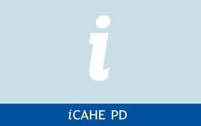 Navigate to iCAHE Professional Development page