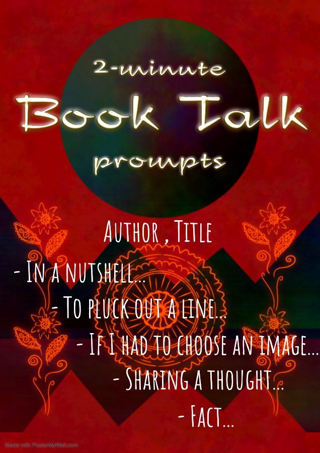 2-minute book talks