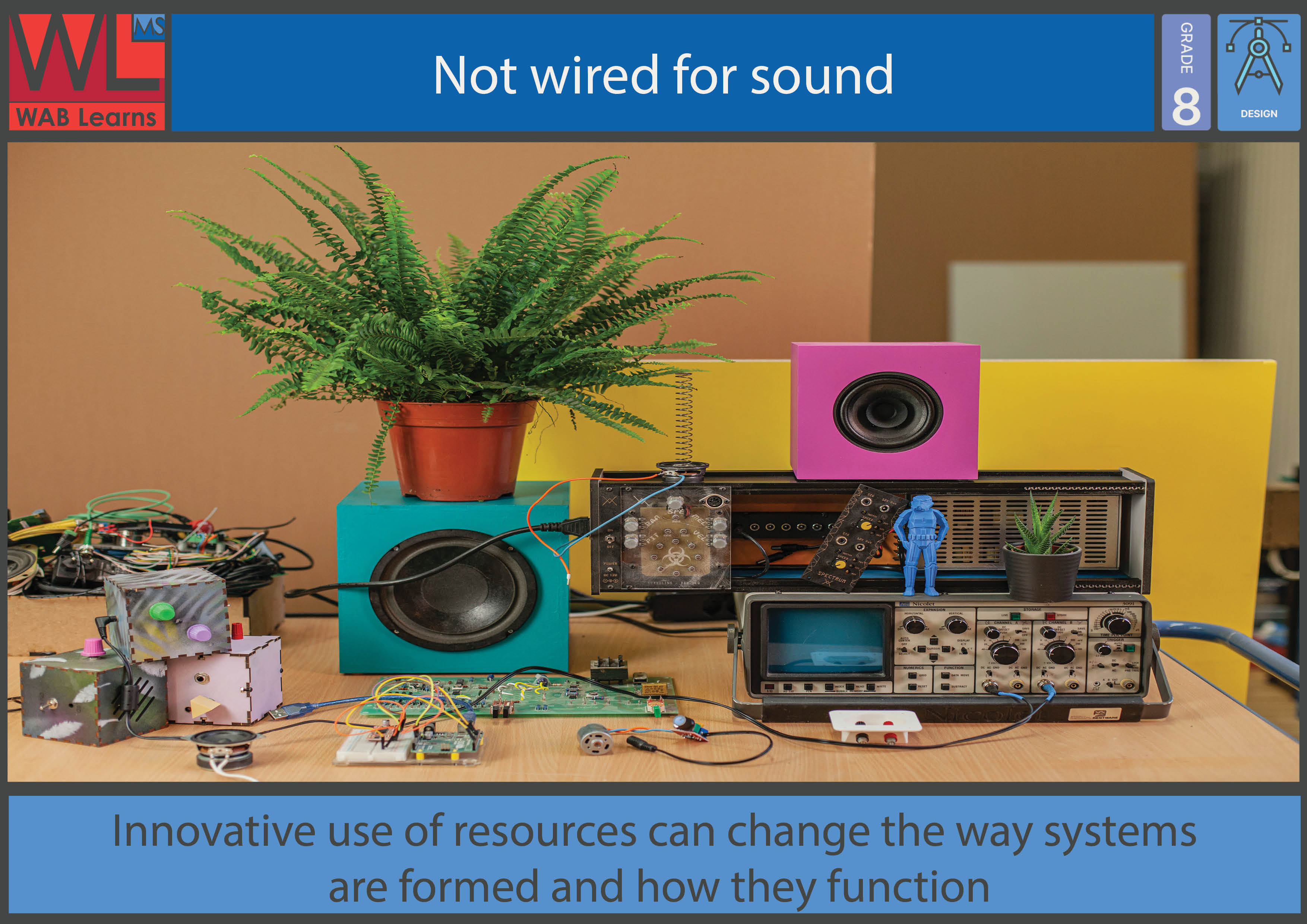 Not wired for sound