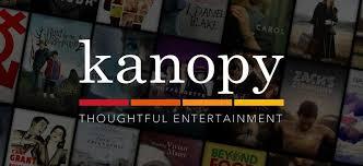 Logo: Kanopy, thoughtful entertainment