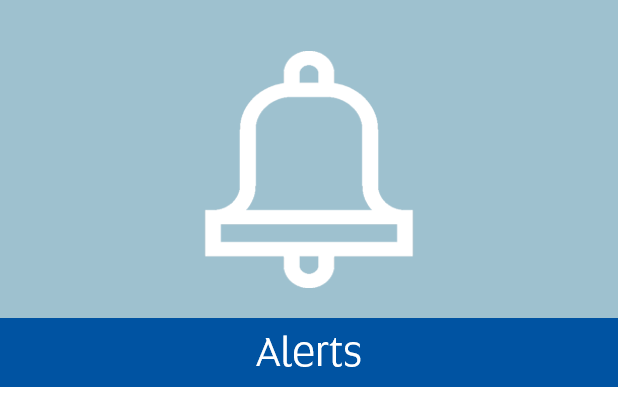 Navigate to Alerts page