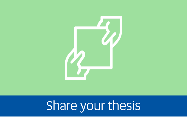 Navigate to share your thesis page