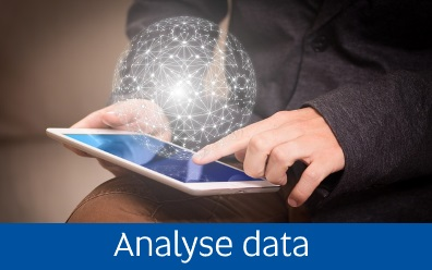 Navigate to the analyse data page within this guide